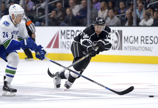 Los Angeles Kings vs. Vancouver Canucks - 12/1/15 NHL Pick, Odds, and Prediction
