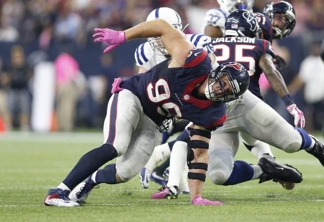 Colts vs. Texans - 12/20/15 NFL Pick, Odds, and Prediction