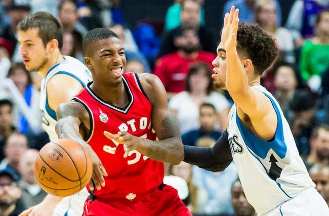 Timberwolves vs. Raptors - 2/10/16 NBA Pick, Odds, and Prediction
