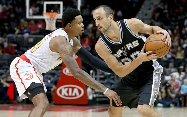 Spurs vs. Hawks - 11/28/15 NBA Pick, Odds, and Prediction