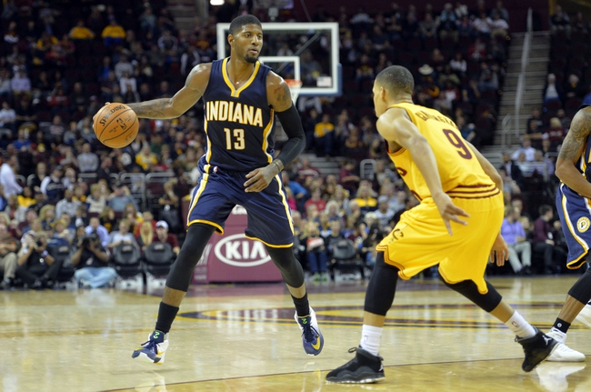 Cleveland Cavaliers vs. Indiana Pacers - 11/8/15 NBA Pick, Odds, and Prediction