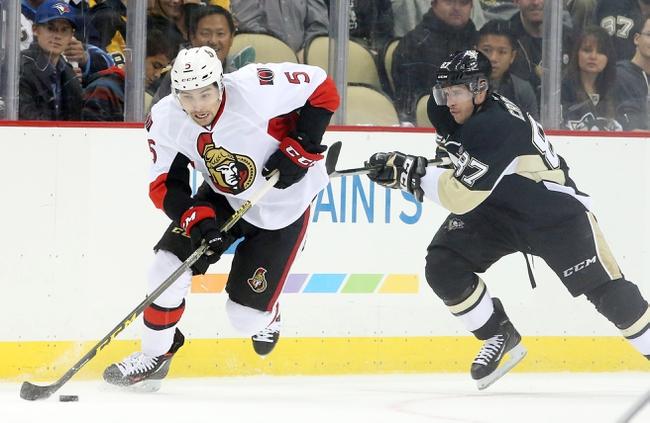 Pittsburgh Penguins vs. Ottawa Senators - 2/2/16 NHL Pick, Odds, and Prediction