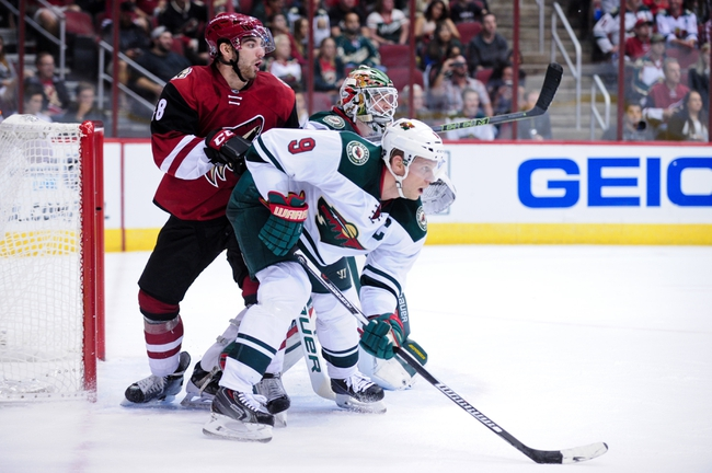 Wild vs. Coyotes - 1/25/16 NHL Pick, Odds, and Prediction