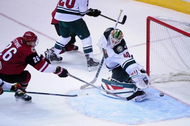 Arizona Coyotes vs. Minnesota Wild - 12/11/15 NHL Pick, Odds, and Prediction
