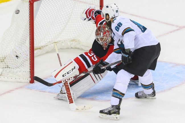 San Jose Sharks vs. New Jersey Devils - 11/21/16 NHL Pick, Odds, and Prediction
