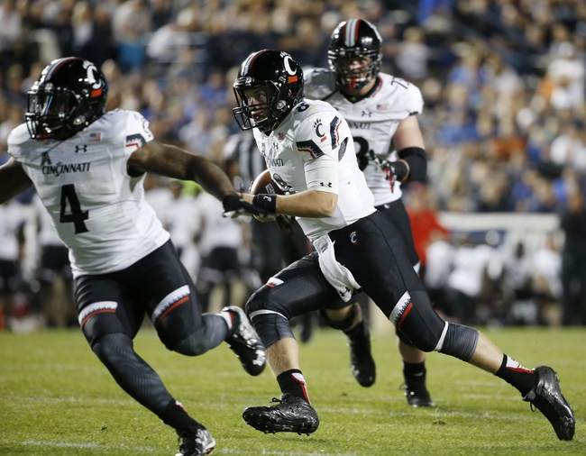 UConn at Cincinnati - 10/24/15 College Football Pick, Odds, and Prediction