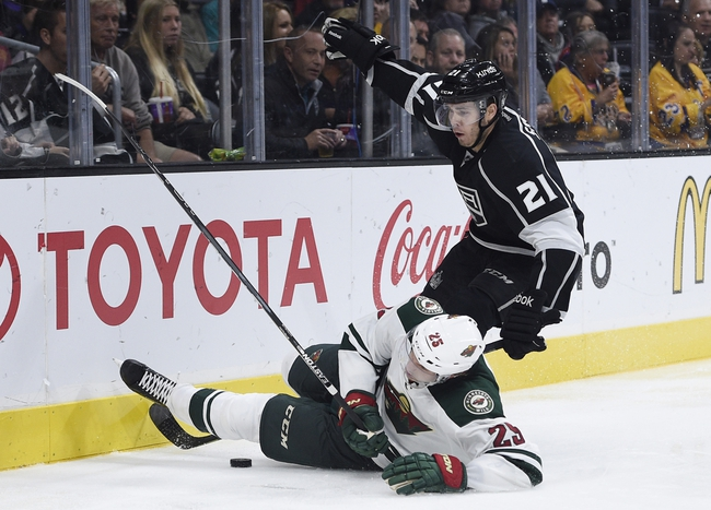 Kings vs. Wild - 1/21/16 NHL Pick, Odds, and Prediction