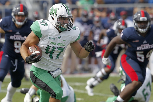 Marshall  vs. North Texas - 10/24/15 College Football Pick, Odds, and Prediction