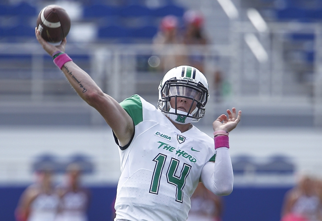 Middle Tennessee vs. Marshall - 11/7/15 College Football Pick, Odds, and Prediction