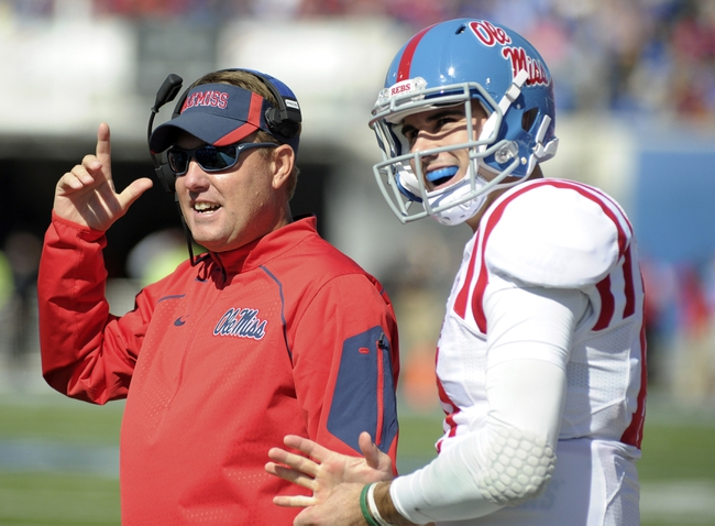 Texas A&M at Ole Miss - 10/24/15 College Football Pick, Odds, and Prediction