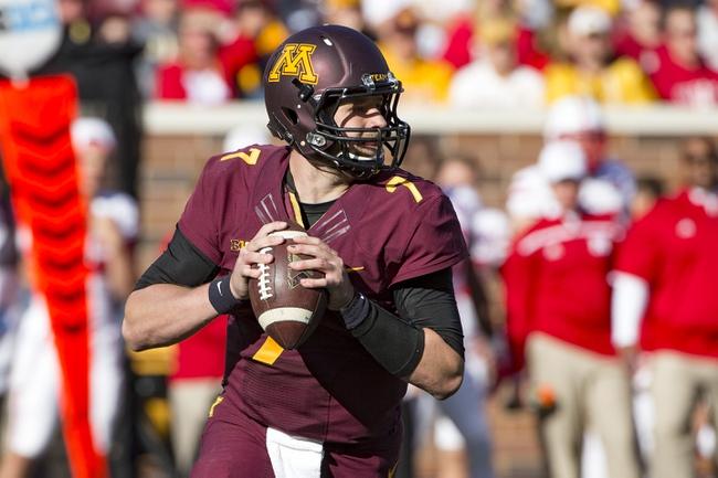 Minnesota vs. Michigan - 10/31/15 College Football Pick, Odds, and Prediction