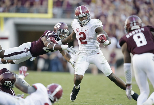 Alabama Crimson Tide vs. Tennessee Volunteers - 10/24/15 College Football Pick, Odds, and Prediction