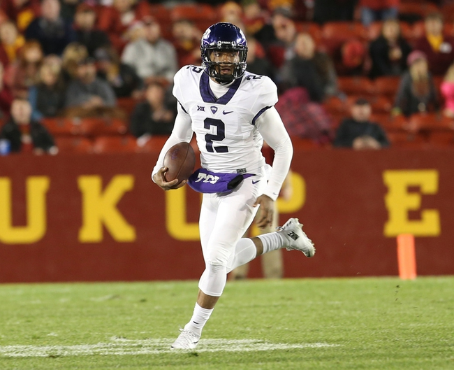 TCU vs. West Virginia - 10/29/15 College Football Pick, Odds, and Prediction