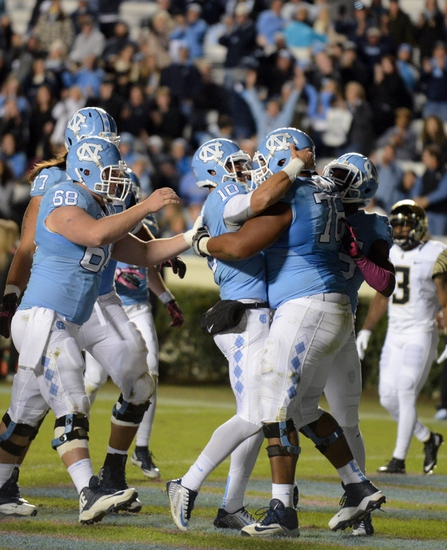 North Carolina Tar Heels vs. Virginia Cavaliers - 10/24/15 College Football Pick, Odds, and Prediction