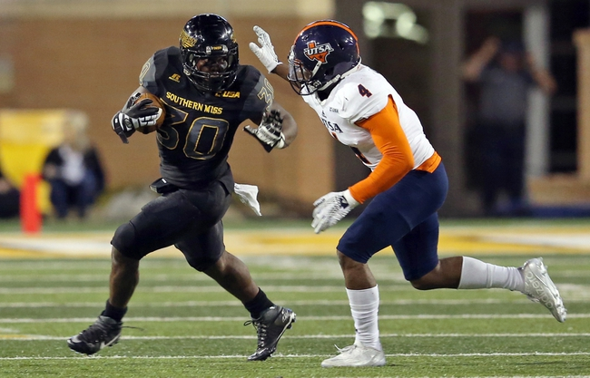UTSA Roadrunners vs. Southern Miss Golden Eagles - 10/8/16 College Football Pick, Odds, and Prediction