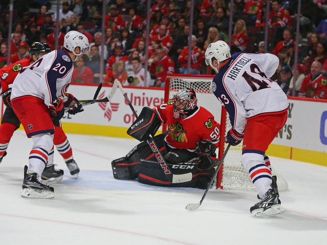 Columbus Blue Jackets vs. Chicago Blackhawks - 4/9/16 NHL Pick, Odds, and Prediction
