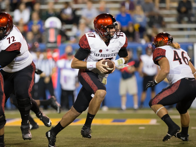 Utah State at San Diego State - 10/23/15 College Football Pick, Odds, and Prediction