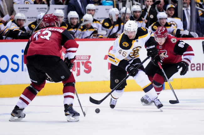 Arizona Coyotes vs. Boston Bruins - 11/12/16 NHL Pick, Odds, and Prediction