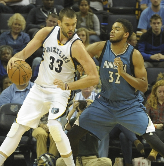 Minnesota Timberwolves vs. Memphis Grizzlies - 11/15/15 NBA Pick, Odds, and Prediction