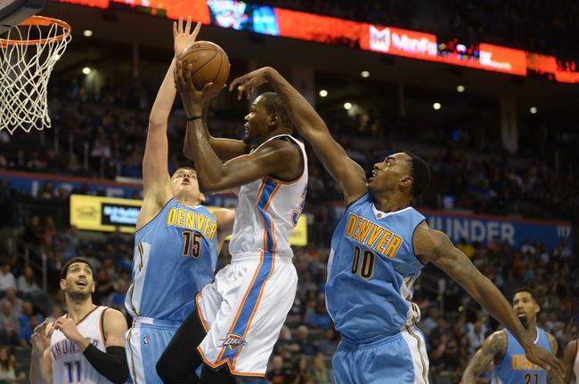 Nuggets at Thunder - 11/1/15 NBA Pick, Odds, and Prediction