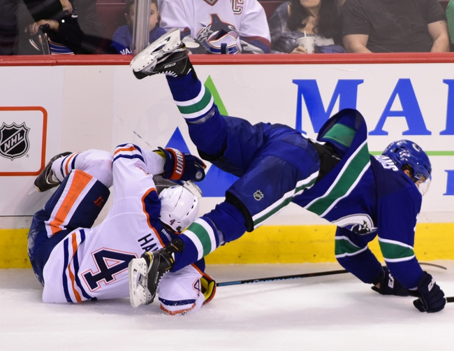 Vancouver Canucks vs. Edmonton Oilers - 12/26/15 NHL Pick, Odds, and Prediction
