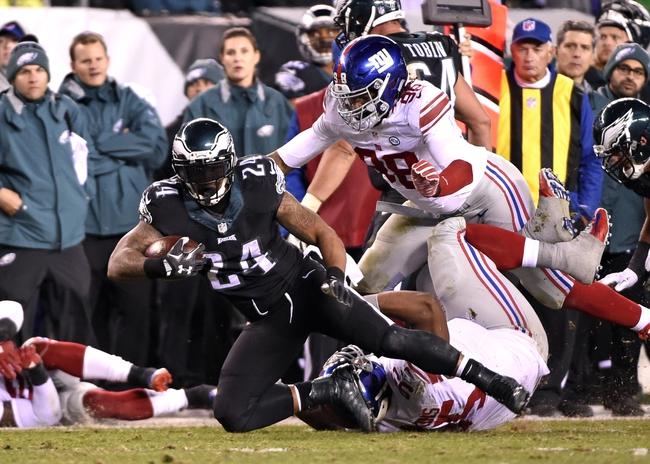 New York Giants vs. Philadelphia Eagles - 1/3/16 NFL Pick, Odds, and Prediction
