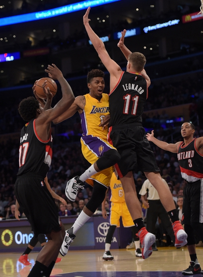 Los Angeles Lakers vs. Portland Trail Blazers - 11/22/15 NBA Pick, Odds, and Prediction