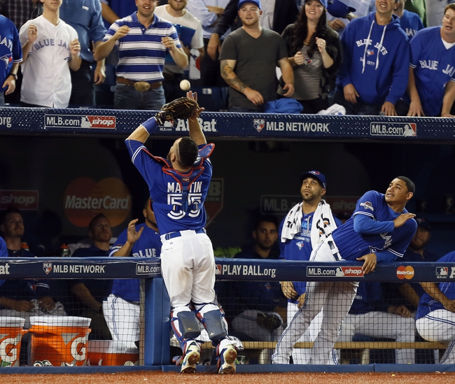 Toronto Blue Jays vs. Kansas City Royals ALCS Game 5 - 10/21/15 MLB Pick, Odds, and Prediction