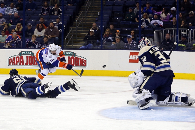 Columbus Blue Jackets vs. New York Islanders - 12/12/15 NHL Pick, Odds, and Prediction