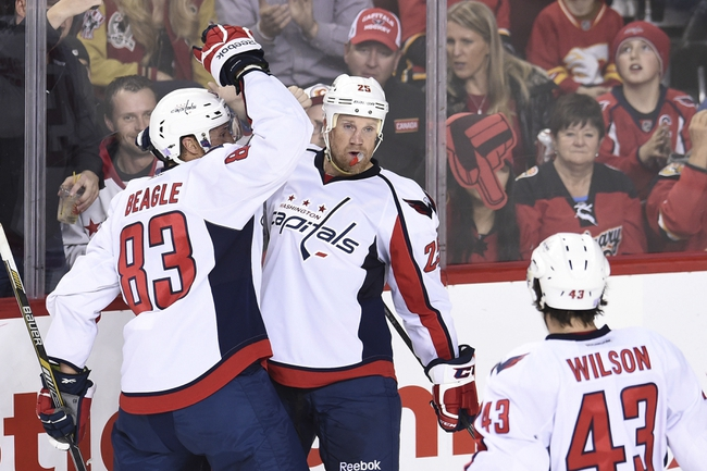 Washington Capitals vs. Calgary Flames - 11/13/15 NHL Pick, Odds, and Prediction