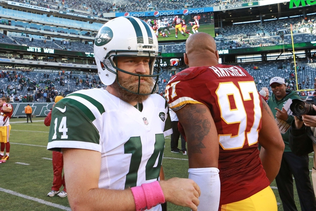 New York Jets at Washington Redskins- 8/19/16 NFL Pick, Odds, and Prediction
