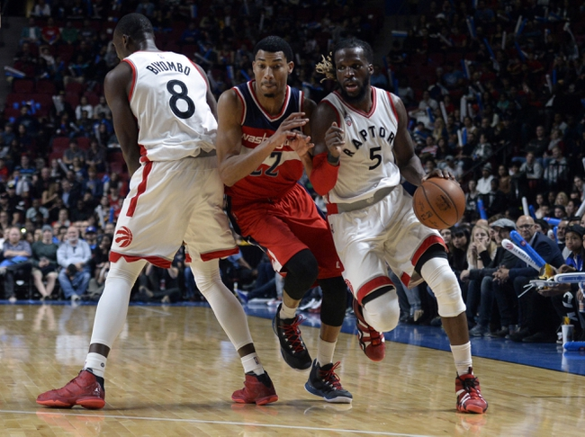 Washington Wizards vs. Toronto Raptors - 11/28/15 NBA Pick, Odds, and Prediction
