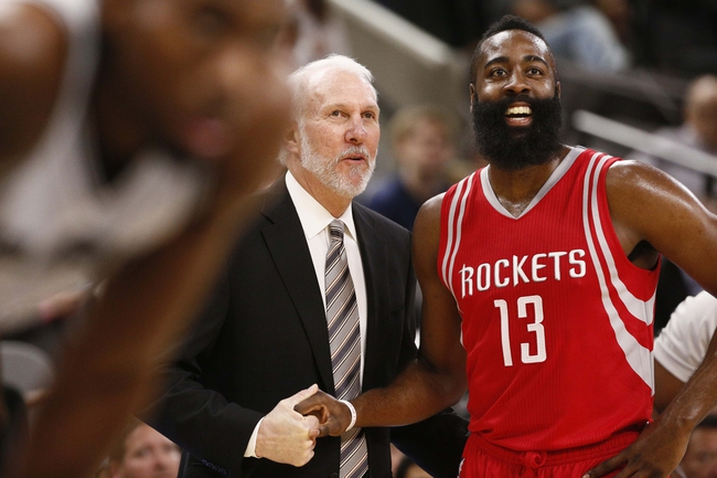 Spurs at Rockets - 12/25/15 NBA Pick, Odds, and Prediction