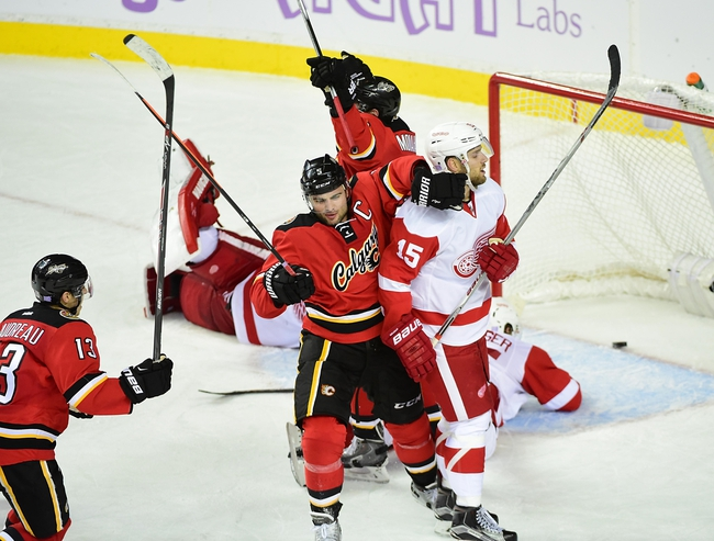 Detroit Red Wings vs. Calgary Flames - 12/20/15 NHL Pick, Odds, and Prediction