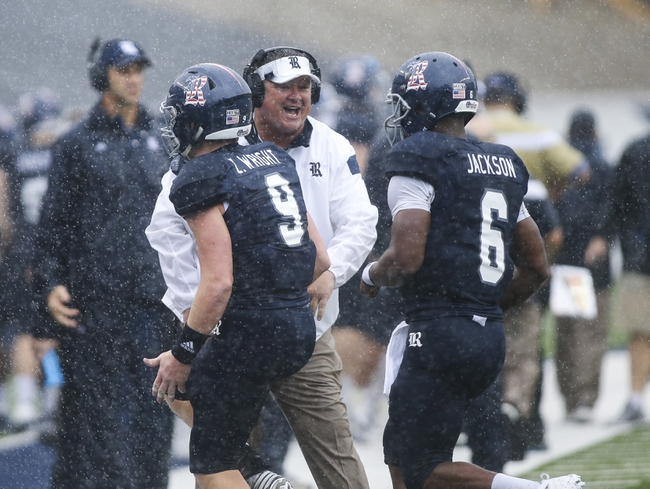 Louisiana Tech at Rice - 10/30/15 College Football Pick, Odds, and Prediction