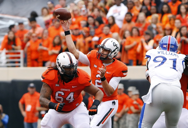 Oklahoma State Cowboys vs. Texas Tech Red Raiders - 10/31/15 College Football Pick, Odds, and Prediction