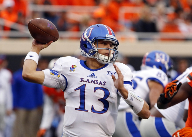 Kansas vs. Oklahoma - 10/31/15 College Football Pick, Odds, and Prediction