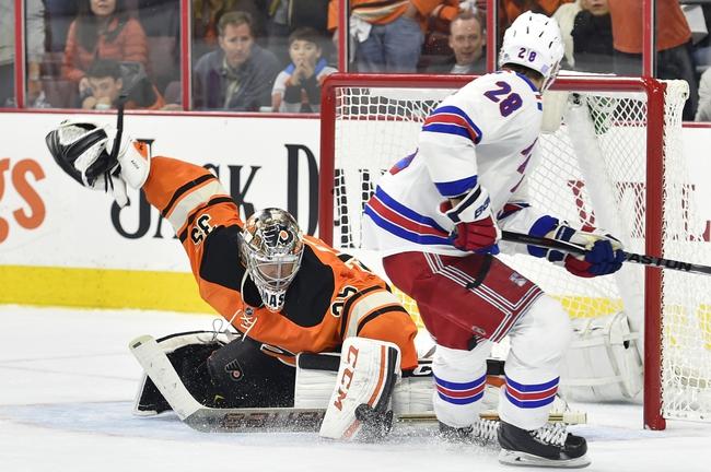 New York Rangers vs. Philadelphia Flyers - 11/28/15 NHL Pick, Odds, and Prediction