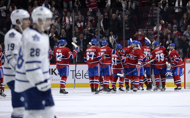 Maple Leafs vs. Canadiens - 1/23/16 NHL Pick, Odds, and Prediction