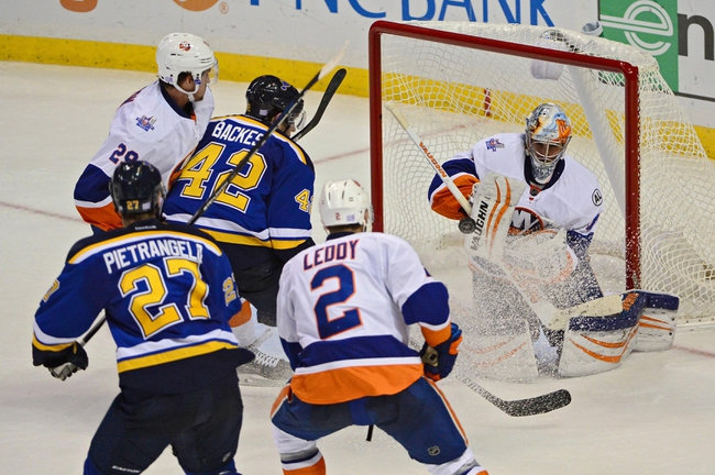 New York Islanders vs. St. Louis Blues - 12/4/15 NHL Pick, Odds, and Prediction
