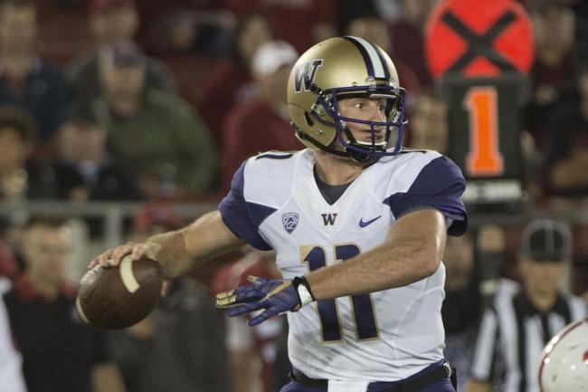 Arizona at Washington - 10/31/15 College Football Pick, Odds, and Prediction