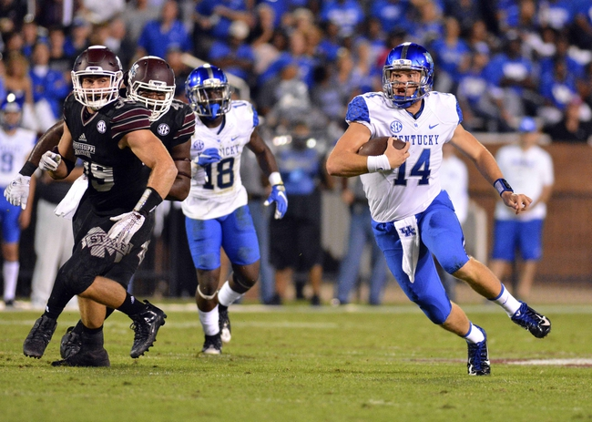 Kentucky Wildcats vs. Tennessee Volunteers - 10/31/15 College Football Pick, Odds, and Prediction