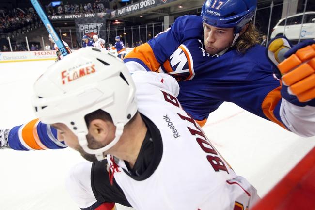 Calgary Flames vs. New York Islanders - 2/25/16 NHL Pick, Odds, and Prediction