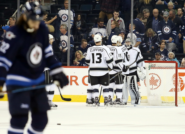 Winnipeg Jets vs. Los Angeles Kings - 3/24/16 NHL Pick, Odds, and Prediction