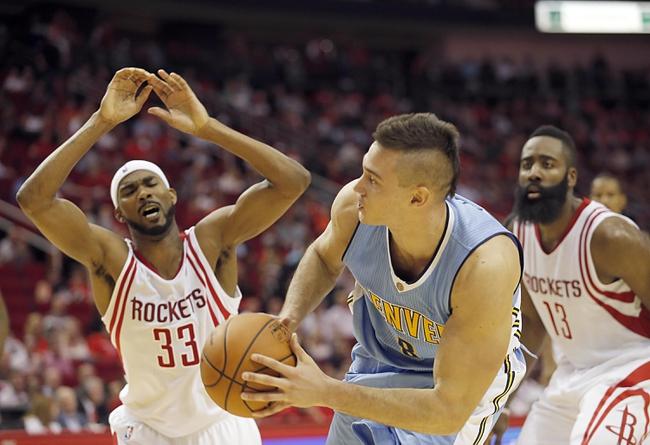 Denver Nuggets vs. Houston Rockets - 11/13/15 NBA Pick, Odds, and Prediction