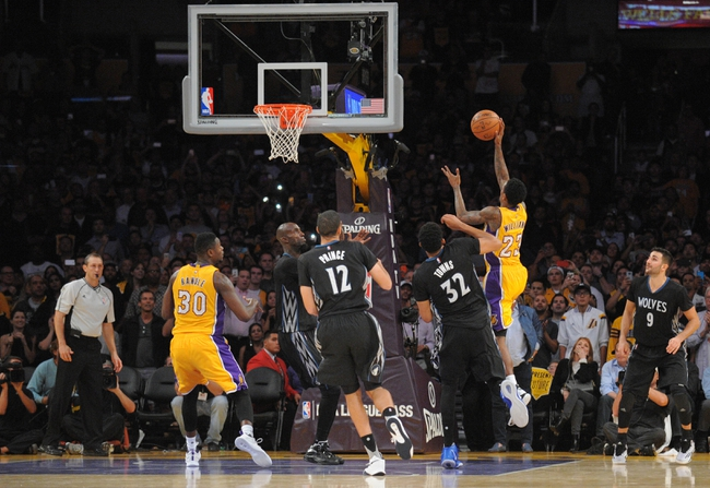 Timberwolves vs. Lakers - 12/9/15 NBA Pick, Odds, and Prediction