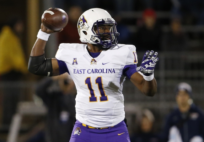Central Florida vs. East Carolina  - 11/19/15 College Football Pick, Odds, and Prediction