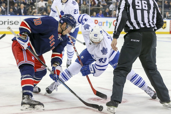 New York Rangers vs. Toronto Maple Leafs - 11/15/15 NHL Pick, Odds, and Prediction