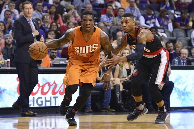 Portland Trail Blazers vs. Phoenix Suns - 10/31/15 NBA Pick, Odds, and Prediction