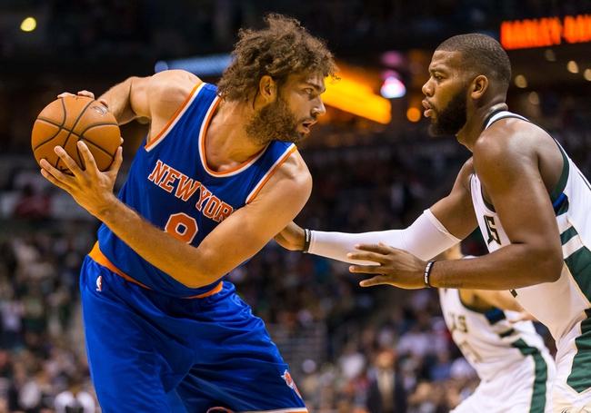 Bucks at Knicks - 11/6/15 NBA Pick, Odds, and Prediction